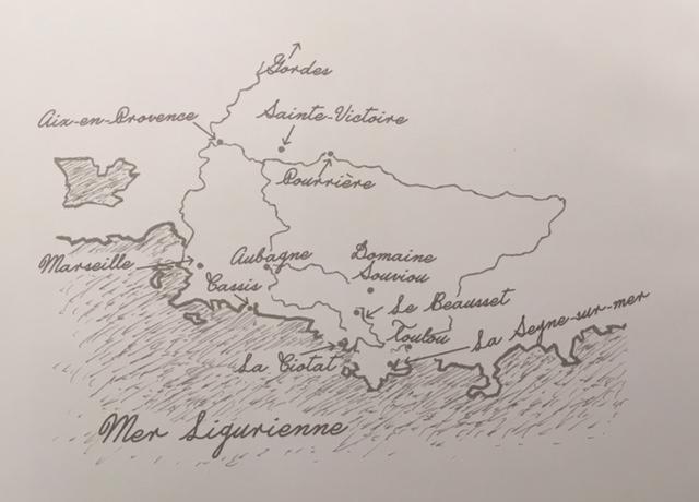 itineraire-du-periple-de-raynald-leclerc-en-provence